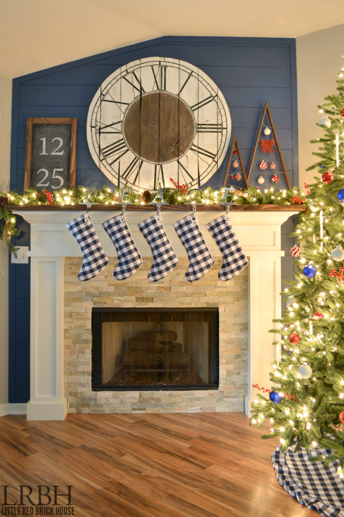 2014 Christmas Home Tour | LITTLE RED BRICK HOUSE