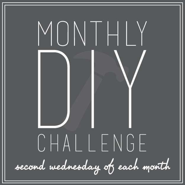 Monthly DIY Challenge Graphic