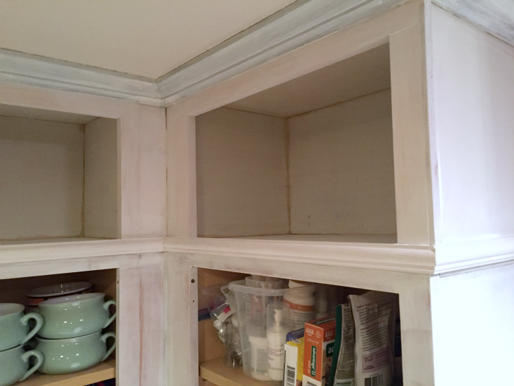 Extending the Cabinets to the Ceiling | LITTLE RED BRICK HOUSE