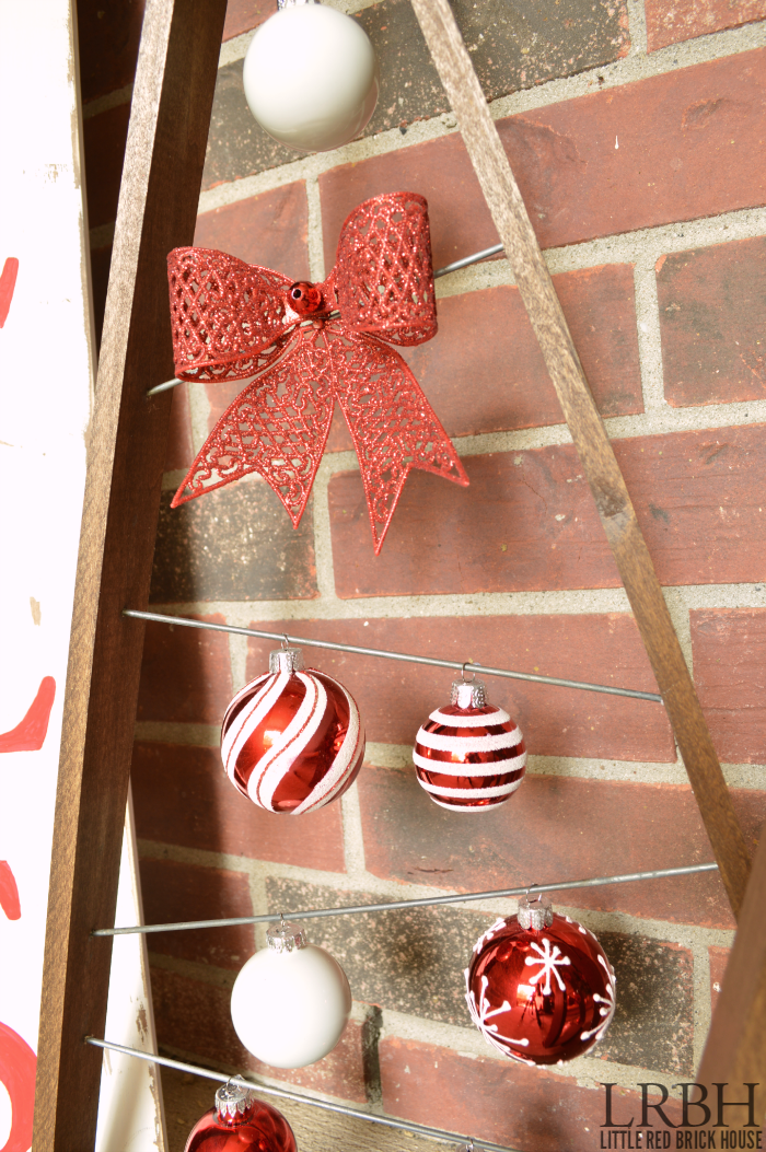 Christmas Ornament Trees | LITTLE RED BRICK HOUSE