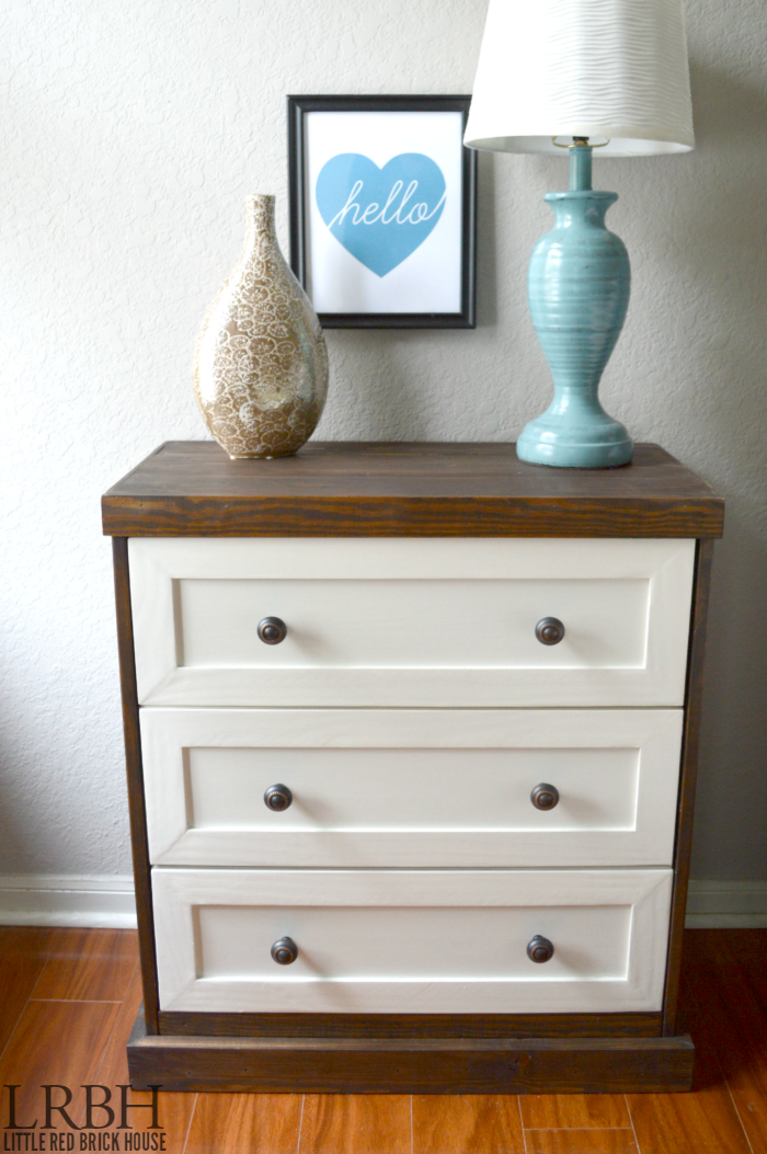 Two Toned IKEA Rast Hack